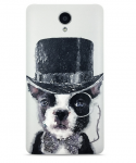 Чехол бампер Xiaomi Redmi Note 2 Cartoon series 3D Dog Gentleman 1154800034
