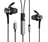 Наушники Xiaomi 1MORE Dual Driver ANC Lightning In-Ear Headphones Gray