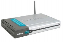 D-Link DI-824 VUP+ VPN-Маршрутизатор / Wireless 802.11g, RS232, USB/ LPT Printserver