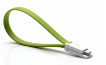 Colorful Portable USB cable 20 см Green