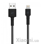 Кабель ZMi AL823 USB - Lighting Black (Kevlar) (30 см)