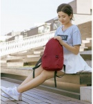 Рюкзак Mi Colorful Small Backpack 2076 Dark Red 340*225*130 mm - копия