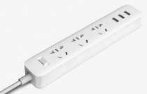Удлинитель ChingMi Power Strip (3 розетки 3 USB) White