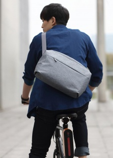 Сумка RunMi 90GOFUN of urban simple Mail bag Light Gray