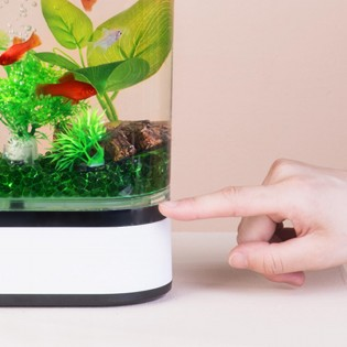 Аквариум Xiaomi Eco Mini fish tank White 203*102*254mm
